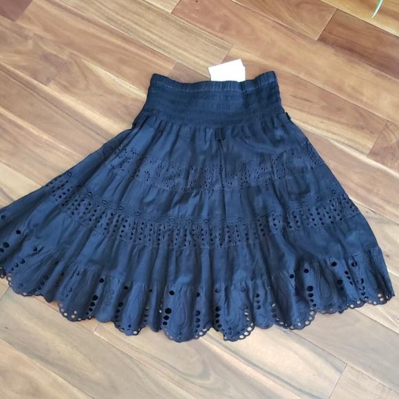 Michael Kors Dresses & Skirts - New w tag Michael Kors lace embroidered mini skirt